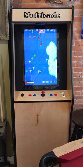 multicade stand up game machine