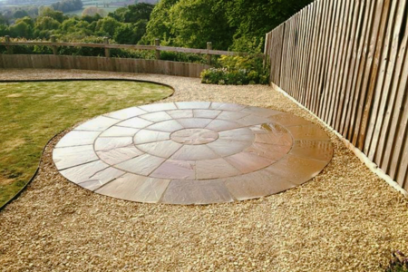 Paving landscape work in Frome