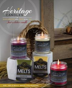 Heritage Candles Jar Candles Wax Melts Fundraiser