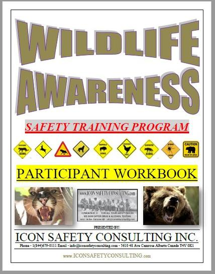 Wildlife Awareness Training - ICON SAFETY CONSULTING INC.