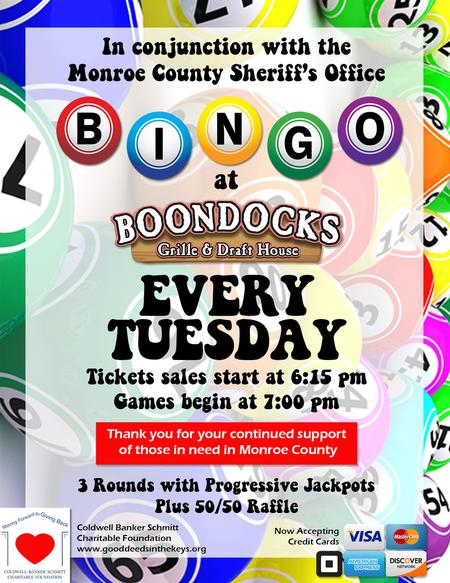 Bingo @ Boondocks