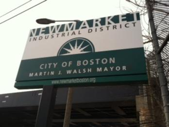 Exterior Sign, New Market site sign