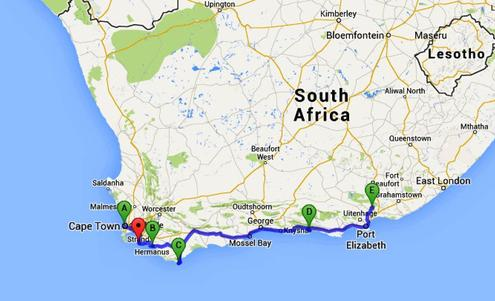Moving from cape town to port elizabeth eastern cape - Drive from port elizabeth to cape town ...
