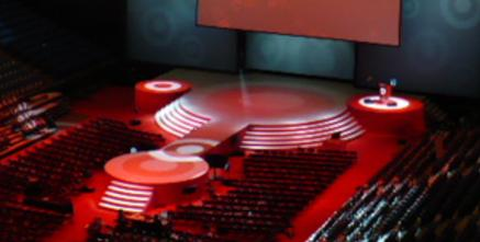 3 4 Plugs >> Circle Stages / Round Stages Rental - Decks and Frames