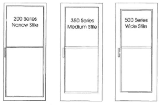 Standard Aluminum Storefront Doors Aluminum Doors Aluminum Storefronts
