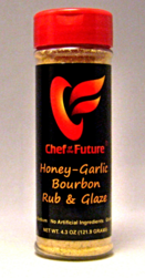 Honey Garlic Bourbon Seasoning Rub and Glaze-Chef of the Future-Your Source for Quality Seasoning Rubs