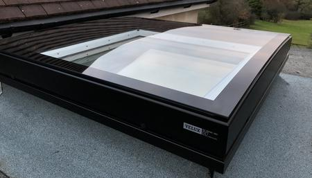 Velux Curved Glass Flat Roof Window Pmv Maintenance