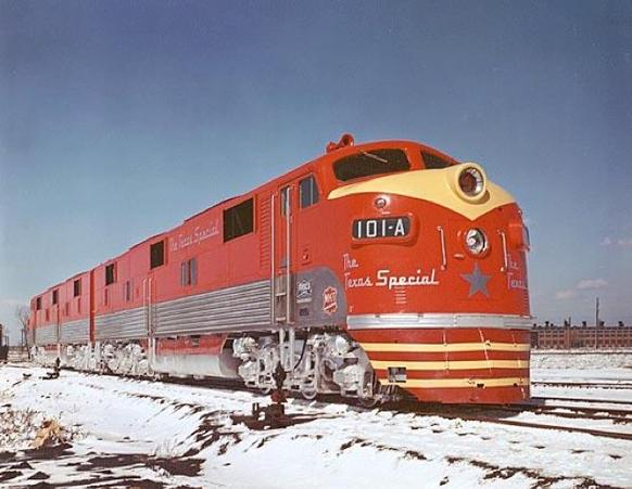The Texas Special at La Grange in 1947.