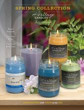Heritage Candles Spring Collection Candle Fundraiser