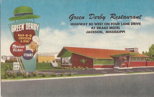 Green Derby Restaurant In Jackson Mississippi
