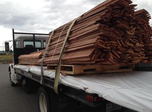 Western Red Cedar Grape stake Fencing
