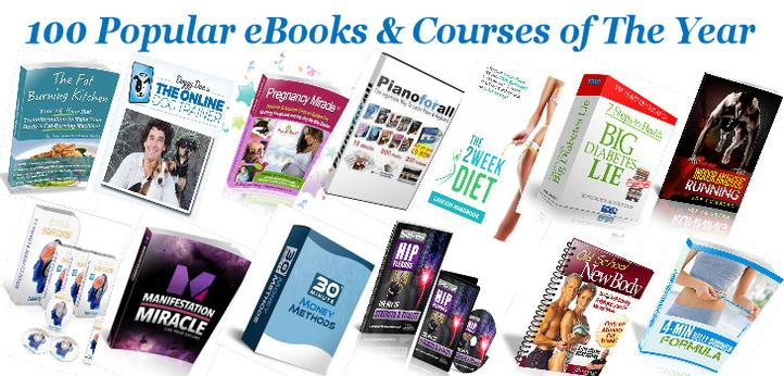 100 Popular eBooks & Courses of The Year