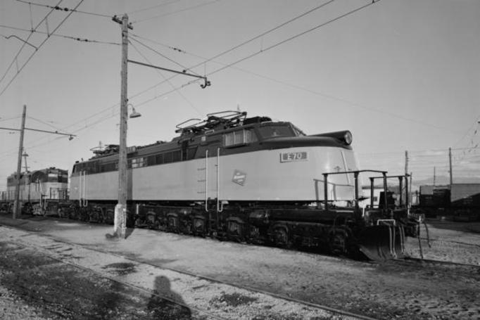 "A Milwaukee Road ""Little Joe"" electric locomotive."