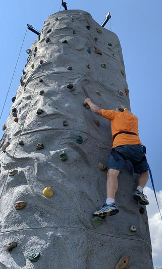 Athens TN Portable rock wall rentals