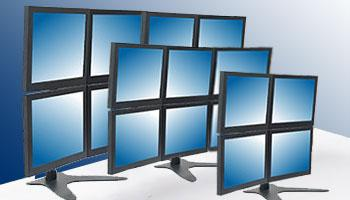 Multiple Monitor Mounts for Displays