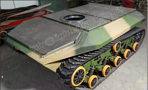 large tracked robot chassis a tank tracks