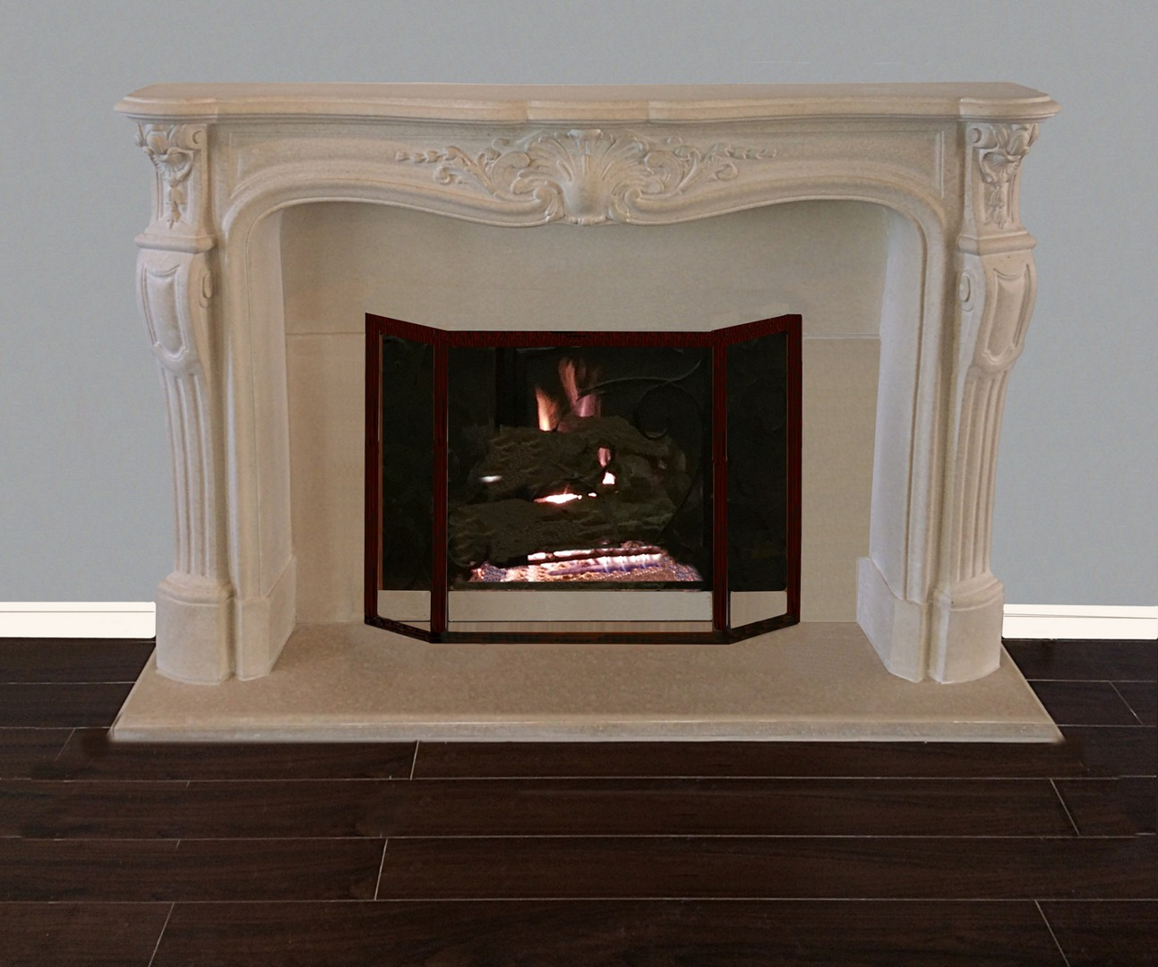 French Classic Fireplace Mantels