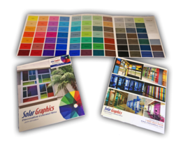 Solar Graphics Colored Window Films Color Chart