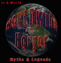 "Worldwide Horror Myths and Legend A fantastic new Halloween/Horror CD! This is our newest collection of horror music inspired by myths and legends from around the world. Each track is a musical and/or sound design interpretation of a particular myth or legend from the specified country.Worldwide Horror - Volume 1 - Myths and Legends The first installment of our musical tributes to Horror myths and legends from around the world. We traveled to many destinations round the globe for our latest cd . Italy, Tunisia, England, France, Alaska, Seattle, Australia, Colorado, Oregon, Washington, Rochester NY to name a few. Many of the melodies were written abroad and intensive research was compiled from accounts and libraries round the world. Many indigenous instruments were also recorded to bring a true authenticity to the cues. Each Myth or Legend originated from a different country. Here are the stories behind them: 1. The Sirens – Greece (οι Σειρήνες): The Sirens are Greek Mythology's femme fatales. They lure sailors with their enchanting voices and songs towards the rocky coast of their Isle. Sailors were said to be enchanted, dive into the waters towards the music of the Sirens and be drowned or even devoured. Ships would also wreck on the rocks stranding the sailors to their fate with the Sirens. In this track, we follow a sailor that is ensnared by the Siren's song, and dives in after them, only to be dragged down into the depths of the ocean. 2. Dia De Los Muertos - Mexico: Dia De Los Muertos is a holiday of Mexican origin. The holiday focuses on gatherings of family and friends to pray for and remember friends and family members who have died. The day of the dead is a celebration of life and honoring the dead. This track features fun, uplifting music interspersed with the calls of ghosts and spirits who have come to join in (take over) the celebration. 3. Spirits Attack (Haunted House) - USA: This track was inspired by the story of the Haunting in Connecticut. The story is of a family that moves into a house that was formerly used as a mortuary. Two of the children (boys) shared a bedroom in the basement where they were plagued by the demonic presence of the morticians that were allegedly involved in necromancy. A truly terrifying story of people being attacked in their home by spirits. There are so many haunted house stories in the US, that we created our own sound design interpretation. (Even more scary in the dark with headphones.) 4. Yowie Dreamtime: Yowies are creatures that are believed to live in the Australian outback according to aboriginal mythology. They are similar in appearance descriptions to the North American Sasquatch. The aboriginals venerate them as sacred creatures from the Dreamtime. Dreamtime is a place beyond time and space in which the past, present, and future exist wholly as one. Tribes-people could enter this alternate universe through dreams or various states of altered consciousness, as well as death. Dreamtime is considered the final destination before reincarnation. In this track we feature our version of ethereal aboriginal music and our own versions of yowie cries that would be heard while the Yowies communicate to each other that they are closing in on their prey. 5. La Strega (The Witch)- Italy: La Strega literally means ""The Witch"" in Italian. The mythology states that the Strega can transform into a bird like a crow or owl and attack children and infants. In this track we invoke the flight of the Strega as it searches for prey. 6. Encantado (Descent into Madness) – Brazil (Descida à loucura): This creature is from Brazilian folklore. The Encantado is thought to have shape-shifting abilities, musical abilities, seduction, and the ability to drive one to insanity, illness and death. They are said to enchant, haunt and even kidnap. In this track, we have the listener experience the descent into madness by hearing an Encantado playing a mysterious instrument that's playing and song becomes more and more warped as the enchantment of madness progresses. 7. Dreamcatcher (Shaman Ghost Dance) – Native America- Ojibwe : Dreamcaters were originally developed by the Ojibwe people. Ojibwe legends speak of a spider woman (Asibikaashi) that took care of the children in the land. To extend Asibikaashi's reach, women would weave web like designs over willow hoops to create the dreamcatcher that would filter out (or catch) the bad dreams and only let the good dreams pass down to the children. The Ghost Dance is a traditional ritual which has been used by many Native Americans since ancient times. The ghost dance is believed to reunite the spirits of the dead with the living and bring peace, unity and prosperity to the native peoples throughout the region. As the Ghost Dance spread Native American tribes adopted selective aspects of the ritual with their own beliefs. In this track we create our own darker version of a ghost dance ritual that is trying to force the nightmares that were caught up in the dreamcatcher back to where they came from. 8. Yokai Monsters - Oni – Japan (妖怪モンスター鬼): Yokai are supernatural apparitions or monsters from Japanese folklore. Oni are the ones who bring disasters and death. These malicious beings feed on human flesh; some say they can eat a person in one gulp! Such oni are believed to be the spirits of the deceased who carried resentment during their lifetime, and the spirits of malicious or jealous women are particularly feared … usually depicted with red, blue, brown or black skin, two horns on its head, a wide mouth filled with fangs, and wearing nothing but a tigerskin loincloth. In this cue, we are creating an homage to early Japanese cinema music (Yokai monster movies). 9. Vesuvius and the Ghosts of Pompeii - Italy - Vesuvio e sui Fantasmi di Pompei: The eruption of Vesuvius in AD79 and the burial of Pompeii is one of the most popular historical disasters of all time. While wondering the ruins of Pompeii, one can almost hear the screams and the voices of the souls that were buried there. In this track we feature our own volcano, and the voices of the ghosts that still inhabit it. 10. Rituel vaudou –Haiti : Principal forms of communication and contact with Vodou's mistè include prayer, praise, ablutions, offerings, spirit possession, drum and dance ceremonies, divination, and animal sacrifice, or more frequent personal devotions such as praising and feeding the lwa. Healing, meanwhile, often involves herbalism and ritual baths. Leaves, water, song, dance, drums, blood, healing, and communion with the sacred which is what Vodou is truly about. In this track we focus on the Vodou drumming and ceremonies are often associated Haitian Vodou. Haititan Vodou ceremonies are a ritualistic faith system that consist of singing / chanting, drumming and dancing. 11. Pied Piper of Hamelin (Rats) – Germany Rattenfänger von Hameln: The Pied Piper is a German folktale. In the year 1284 the Pied Piper, a mysterious wanderer attired in a coat of many colours, offers to rid the town of Hamelin of a plague of rats. He enchants the rats by playing a magical flute and then lures them away. But when the city fathers of Hamlin go back on their promise to pay the piper handsomely for his work, the piper exacts revenge by playing his flute for the town of Hamlin's children and leading them away into a mountain cavern, where they disappear forever. In this track we focus on the rats. (Volume 2 will feature the second half of this creepy tale.) 12. Frozen Yeti Ice Cave – Nepal फ्रोजें येति इचे: In Tibetan the word Yeti means ""magical creature"" a seemingly supernatural enigma in the shape of a hairy, biped creature. The Yeti is an ape-like cryptid taller than an average human, similar to Bigfoot, which reputedly inhabits the Himalayan region of Nepal, and Tibet. The word Yeti is derived from a compound of Tibetan words that essentially translate as ""man-bear"" or as ""cattle bear"", referring to the Himalayan brown bear. A Yeti is more commonly known as the abominable snowman. They are said to inhabit the Himalayas in Nepal and Tibet. In this track we feature the sound design of a Yeti in its cave habitat. 13. Mummy's Minions – Egypt التوابع المومياء: The ancient Egyptians believed that the human spirit was permanently linked to the viability of the body, so it was necessary to preserve the body in order to achieve immortality in the afterlife. Egyptians believed that the body needed to be preserved intact to serve as a host for the soul. An estimated 70 million mummies were made in Egypt over a 3,000-year period. There are many stories, myths and legends connected to the mummy. Most are stories of curses being connected to the mummies to prevent grave robbers from raiding tombs. In this track, our story features a mummy coming back to life to lead and army of the dead."