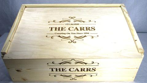 12 bottle wine crate