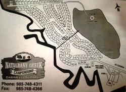 map of our RV park