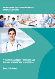Training handbook for Health and Medical Interpreters in Australia