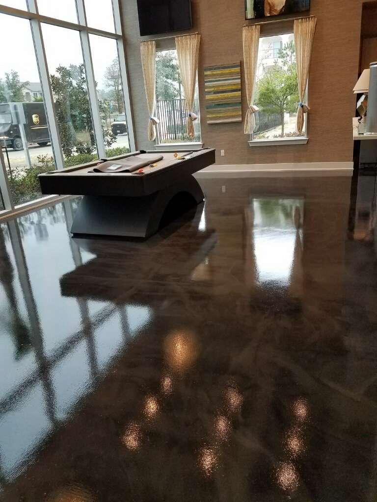 Beautiful Concrete Of Texas Concrete Overlay Epoxy Floor