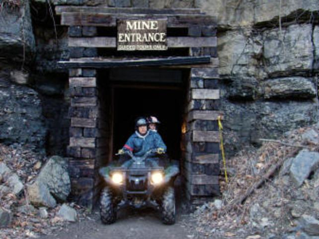 Mines and Meadows Mine Tour quad