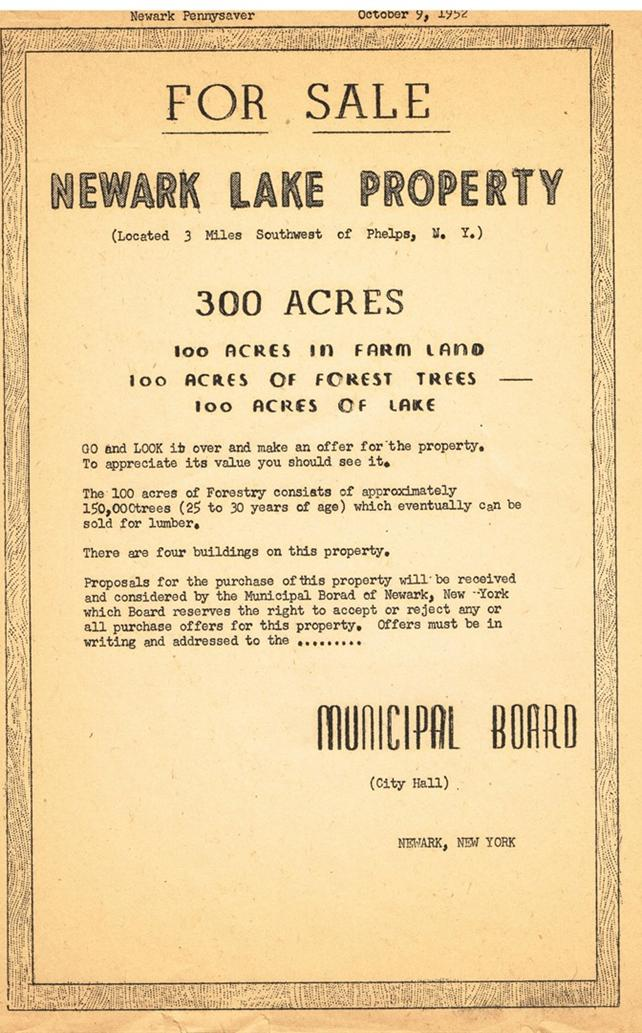 Newark Lake For Sale