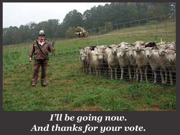 The liberal mind refuses to comprehend this sheep herder--unless he is the sheepherder.