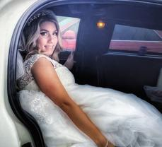 Bride's Wedding Limo