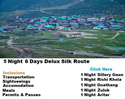 5 Night 6 Days Sikkim Silk Route Tour Packages