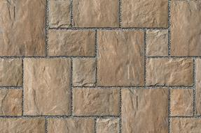 Unilock Manufactured Permeable Paver Thornbury in Color Bavarian Blend
