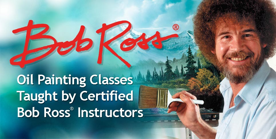 Bob Ross Painting Classes Taught By Certified Instructors