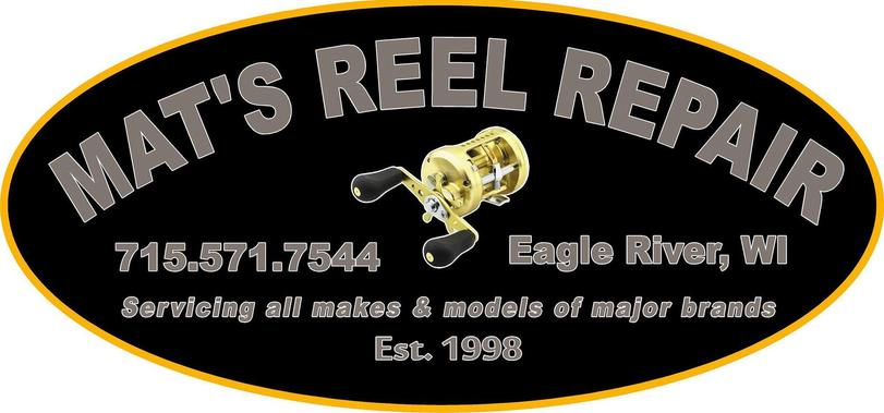 mat's reel repair - and parts, Fishing Reels