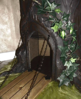 Drawbridge Door on Fantasy Cat Trees