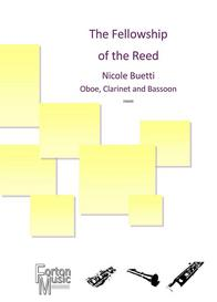 The Fellowship of the Reed trio for clarinet oboe and bassoon sheet music available here