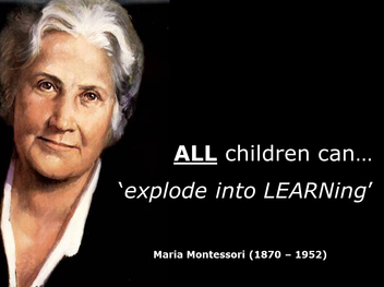 Dr. Maria Montessori, Montessori Concept, Montessori Education vs Traditional Education