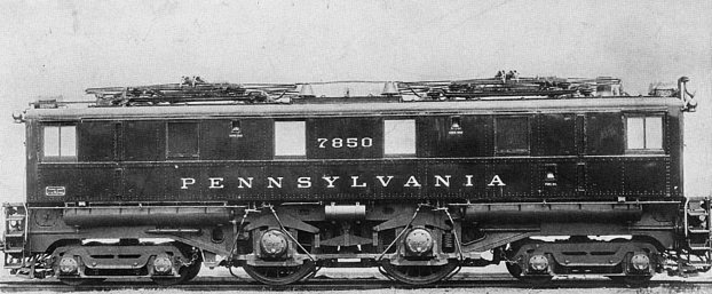 PRR O1 locomotive No. 7850 in a Pennsylvania Railroad promotional photo.