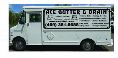 Free estimates on rain gutters and french drain installation