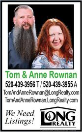 Tom & Anne Rownan, Realtors, Long Realty Sierra Vista
