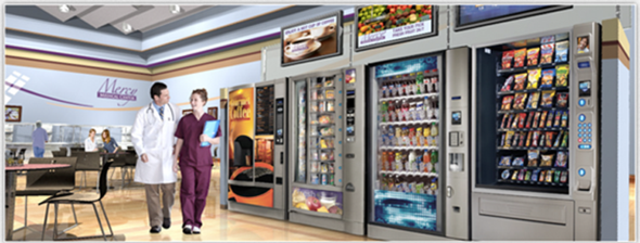 Vending machines, Pepsi, Coke, VendMaster Services Corp, VendMaster, operators, healthy choices, smartphone, cashless, payment options, vending technology