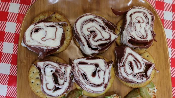 Dried Beef and Cream Cheese PInwheels Recipe, Noreen's Kitchen