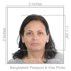 Bangladesh Passport And Visa Photos Printed And Guaranteed Accepted Pictures