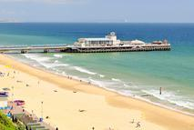 playa y pier de Bournemouth