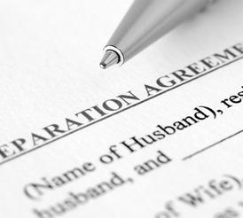 A separation agreement from a legal separation attorney in Scottsdale, AZ