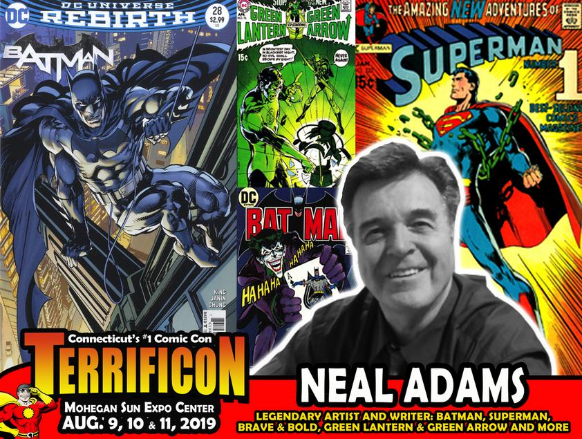 NEAL ADAMS CONNECTICUT COMICON