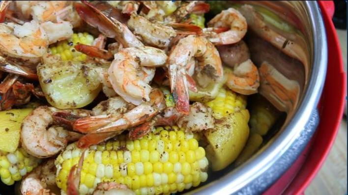 Pressure Cooker Down East Shrimp Boil Recipe, Noreen's Kitchen