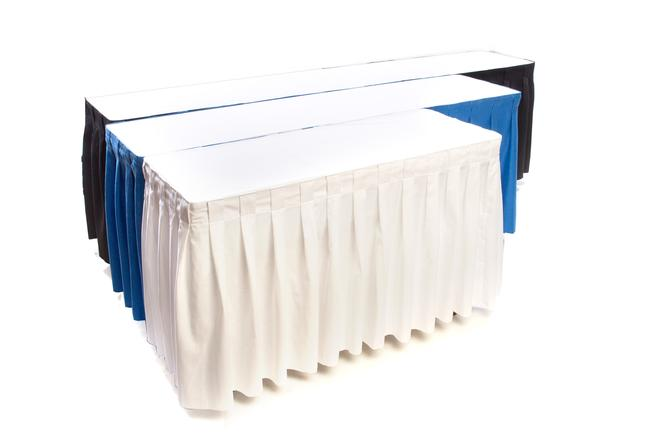 skirted table rentals skirting hahn rentals kitchener waterloo tables