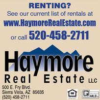 Real Estate Press, Southern Arizona, Haymore Real Estate LLC